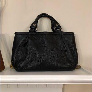 Cole Hann Leather satchel.